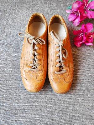 Prada Lederturnschuhe Sneaker Leder Größe 37