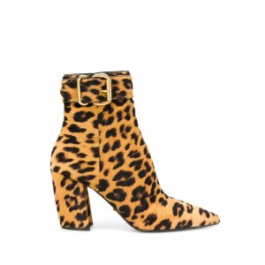 Prada Leopard Print Ankle Boots