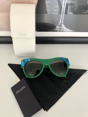 Prada Oval Sunglasses green-blue