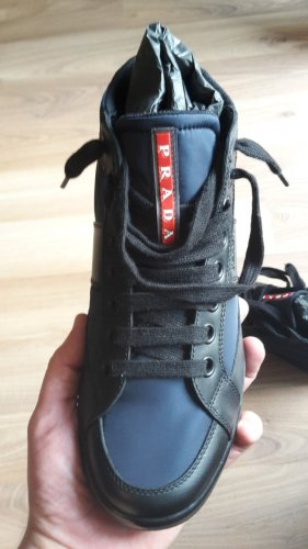 PRADA Linea Rossa High-Top Sneaker