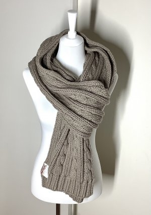 PRADA Long Thick Knitted Scarf