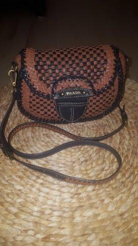 Prada Madras Crossbody Bag