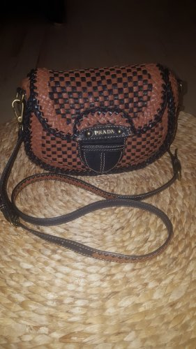Prada Madras Crossbody Bag
