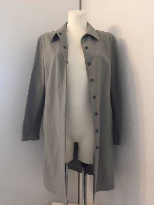 Prada Trench Coat light grey-grey