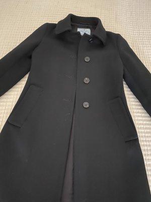Prada Wollen jas zwart Wol