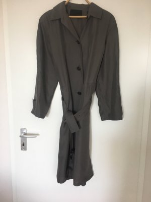 Prada Gabardina tipo vestido gris