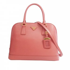 Prada Medium Saffiano Leather Lux Promenade Satchel