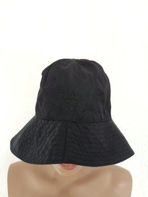 Prada Sombrero de cubo negro poliamida