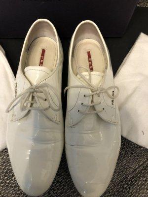 Prada Wingtip Shoes white