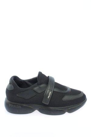 Prada Milano Sneaker slip-on nero stile casual