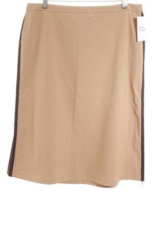 Prada Minirock beige-dunkelbraun klassischer Stil