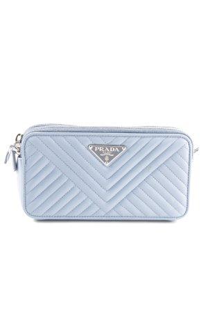 "Prada Mini sac ""Mini Bag Saffiano Astrale"" bleu azur"