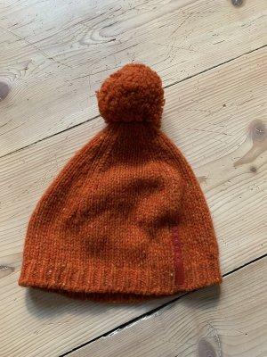 Prada Cappello a maglia multicolore Lana