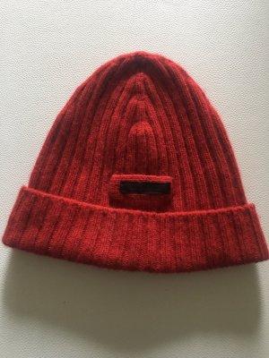 Prada Mütze Rot Original