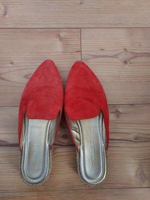 Prada Pantofel czerwony