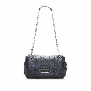 Prada Nappa Bomber Leather Shoulder Bag