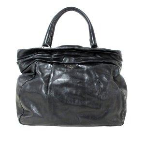 Prada Tote black leather