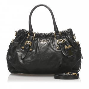 Prada Nappa Leather Satchel