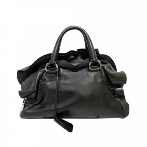 Prada Nappa Mordore Leather Handbag