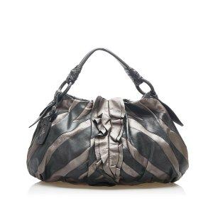 Prada Hobos black leather