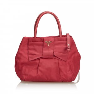 Prada Nylon Bow Satchel