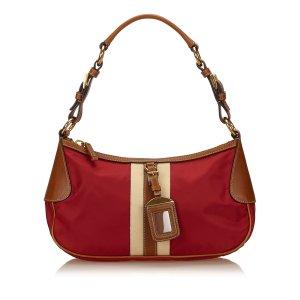 Prada Handbag red nylon