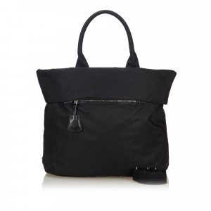 Prada Nylon Reversible Tote Bag