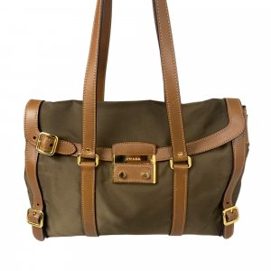 Prada Nylon Sound Lock Shoulder Bag