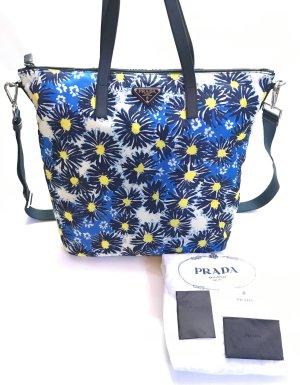 Prada Nylon Tasche mit Blumen Muster