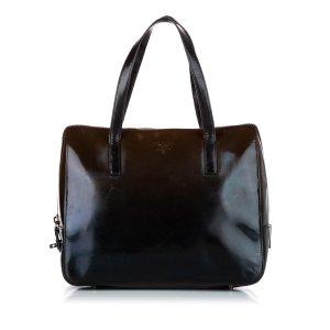 Prada Ombre Glace Leather Handbag
