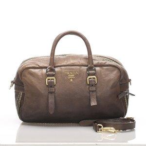 Prada Ombre Leather Satchel