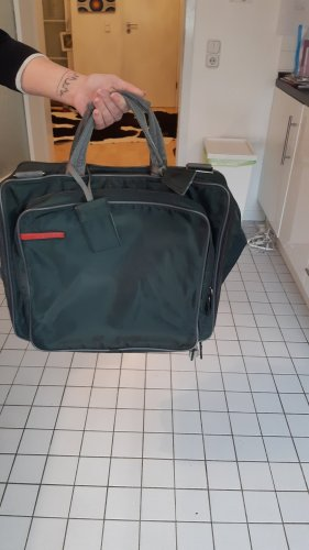 Prada Zaino laptop verde scuro