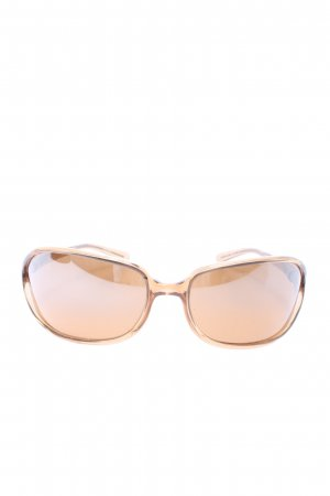 Prada ovale Sonnenbrille braun Casual-Look