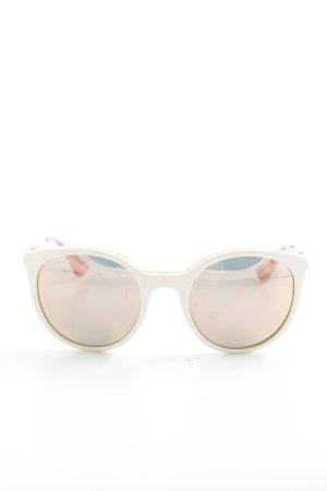 Prada Ovale zonnebril veelkleurig casual uitstraling
