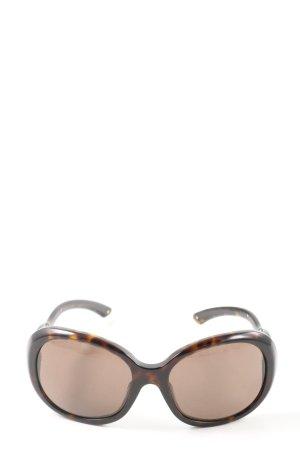 Prada Ovale zonnebril kleurverloop casual uitstraling