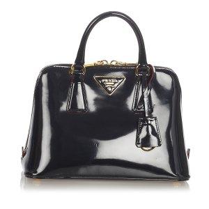 Prada Patent Frame Handbag