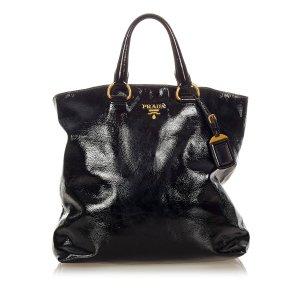 Prada Satchel black imitation leather