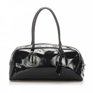 Prada Patent Leather Shoulder Bag