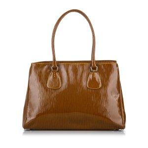 Prada Tote brown imitation leather