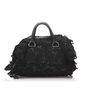 Prada Pizzo S Bowler Bag