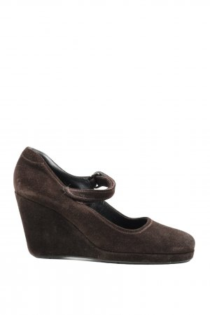 Prada Plateau-Pumps braun Casual-Look