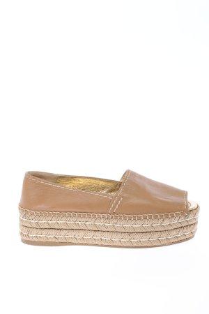 Prada Espadrille Sandals brown casual look