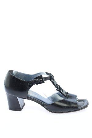 Prada Plateau-Sandaletten schwarz Business-Look