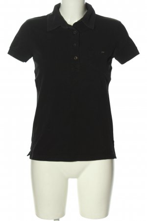 Prada Polo-Shirt schwarz Casual-Look