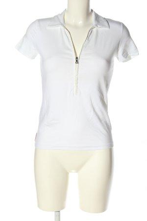 Prada Polo-Shirt weiß Casual-Look