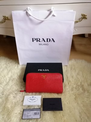 Prada Portemonnaie in Rot ❤️