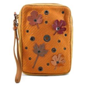 Prada Handbag orange suede