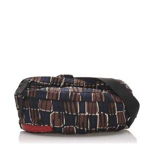 Prada Printed Tessuto Belt Bag