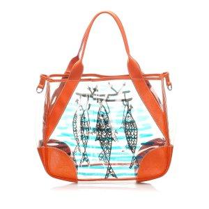 Prada Printed Tote Bag