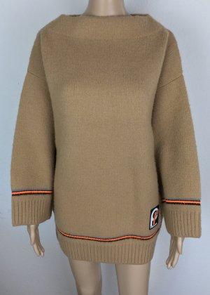 Prada, Pullover, 36/38 (It. 42), Camel, Virgin Wool, neu, € 1.000,-